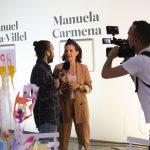 el programa de TeleMadrid Madrid Directo con Samantha Vallejo-Nágera